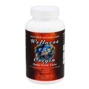 Humic Fulvic Focus Wellness Origin