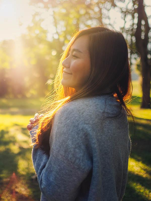 Portrait beautiful